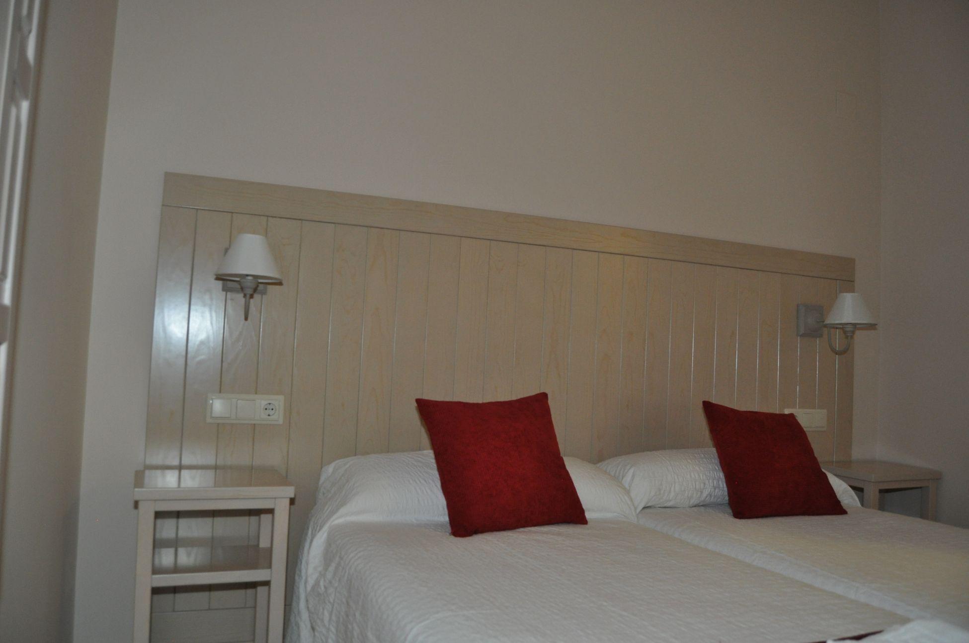 Habitación Hostal La Chata en La Granja. Segovia