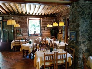Restaurante La Chata en La Granja de San Ildefonso. Segovia